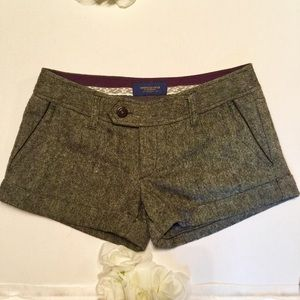 American Eagle shorts with glitter in them